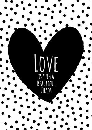 ♥ is such a beautiful chaos. ;) #Quotes #Words #Love
