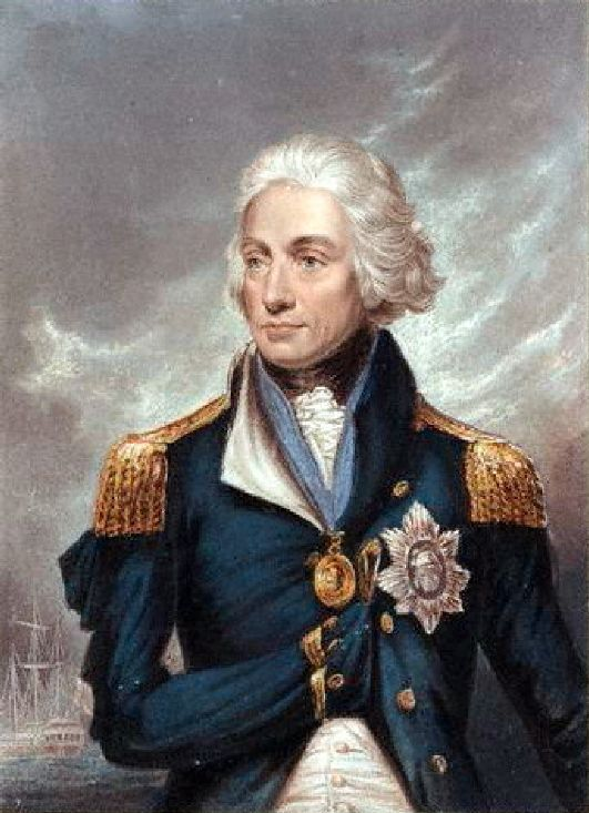"Horatio Nelson (1758-1805) was a British admiral & was one of the first to go against the conventional tactics of his time by cutting through the enemy's lines in the Napoleonic Wars. Horatio became blind in one eye early in his Royal Navy career. In those days a retreat or surrender was shown via a system of signal flags, when friendly or enemy ships would display the flags. Horatio would bring his telescope to his blind eye & say, ""Carry on with the attack, I see no signals."""