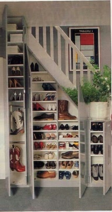 shoe storage where you need it
