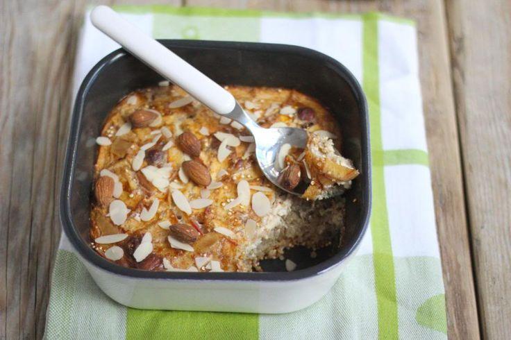 Ontbijt: quinoa met appel en kaneel uit de oven - Lekker en Simpel