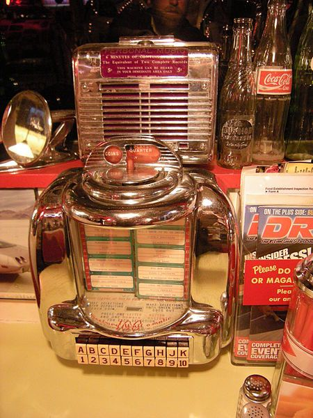 Tableside Jukeboxes
