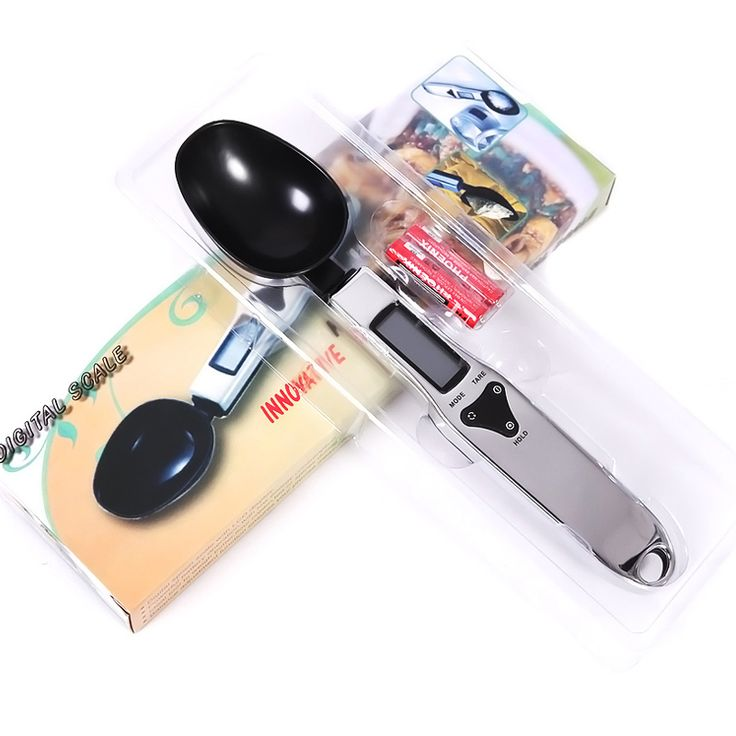 Genuine spoon fashion novelty portable digital scales balanced diet weight 0.1g household electronic kitchen scale cooking tools