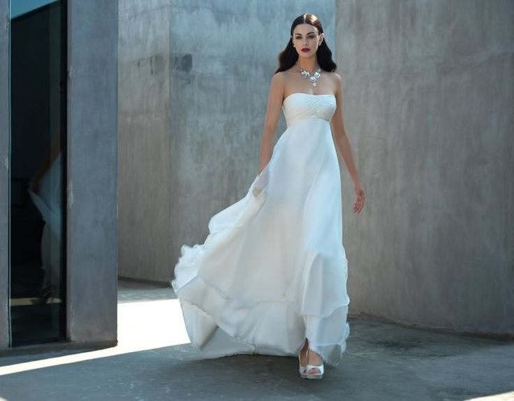 abito da sposa georgette bordino stile impero  ♥ ** Wedding ...