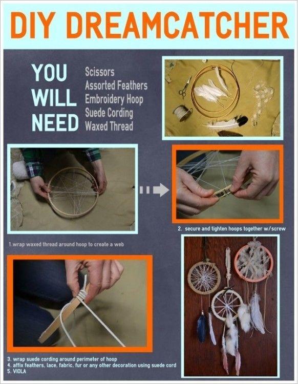 DIY Dream Catcher diy crafts craft ideas easy crafts diy ideas diy idea diy home easy diy for the home crafty decor home ideas diy decorations diy dreamcatcher