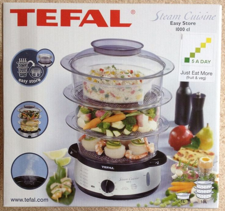 Tefal steam cuisine easy store 1000cl brand new in for Cuisine tefal