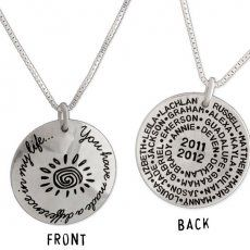 Teacher Git Idea -  You Have Made a Difference Necklace