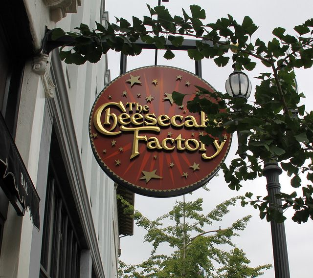 Cheesecake factory..I can't wait to eat there again