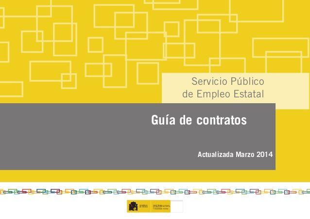 Guia de contractes de treball (Març 2014)