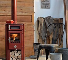 High & Mighty Penguin - Chilli Penguin Stove - 5kW Mulit Fuel Stove with Oven