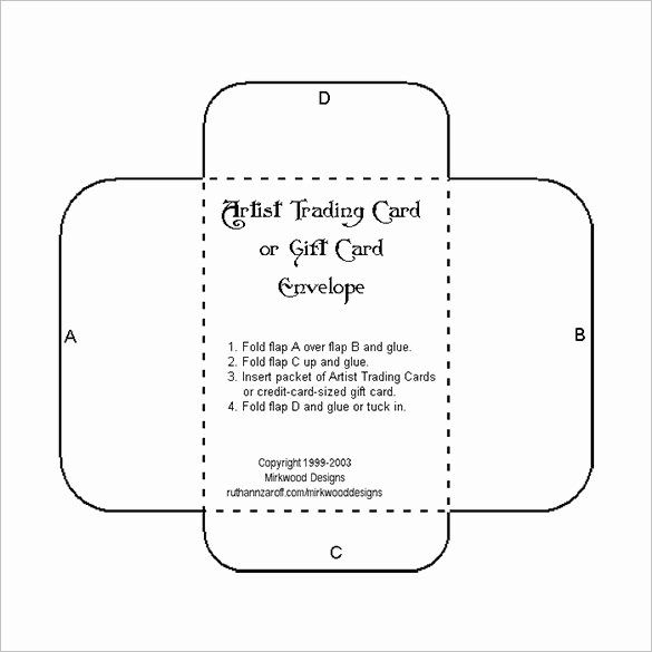 Gift Card Envelope Templates Best Of 10 Gift Card Envelope Templates Free Printable Gift Card Envelope Template Gift Card Envelope Envelope Template Printable