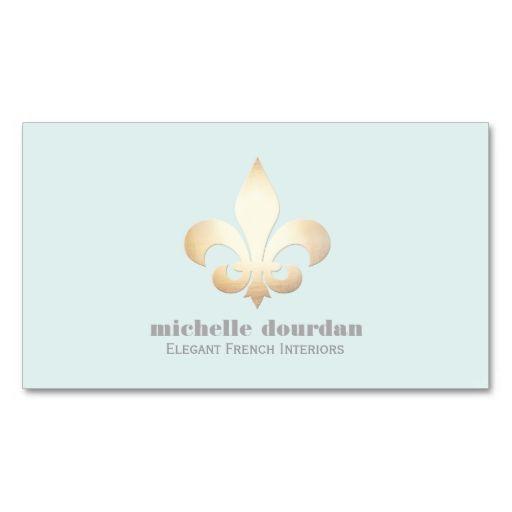 19 best fleur de lis business cards images on pinterest business elegant french interior designer gold fleur de lis business card this great business card design colourmoves