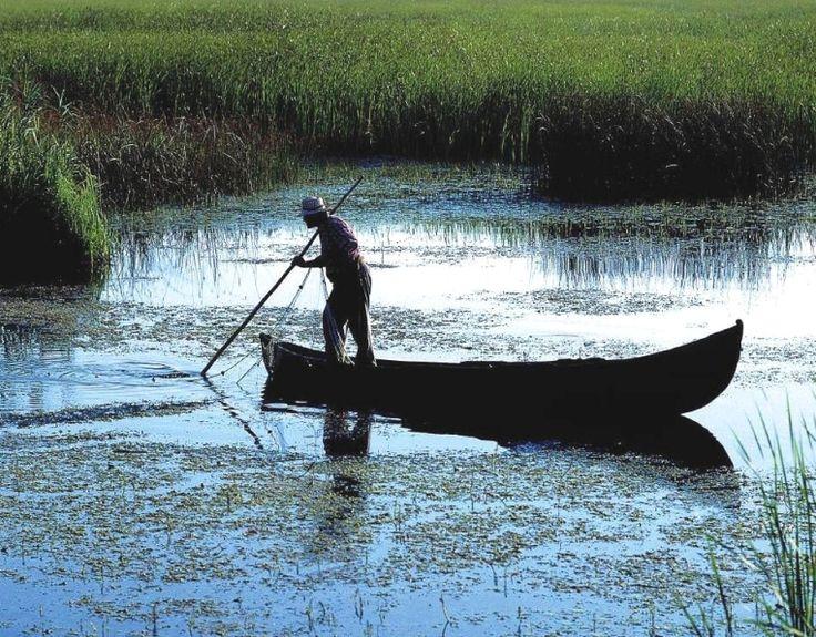 Danube Delta Romania Black Sea eastern Europe fisherman