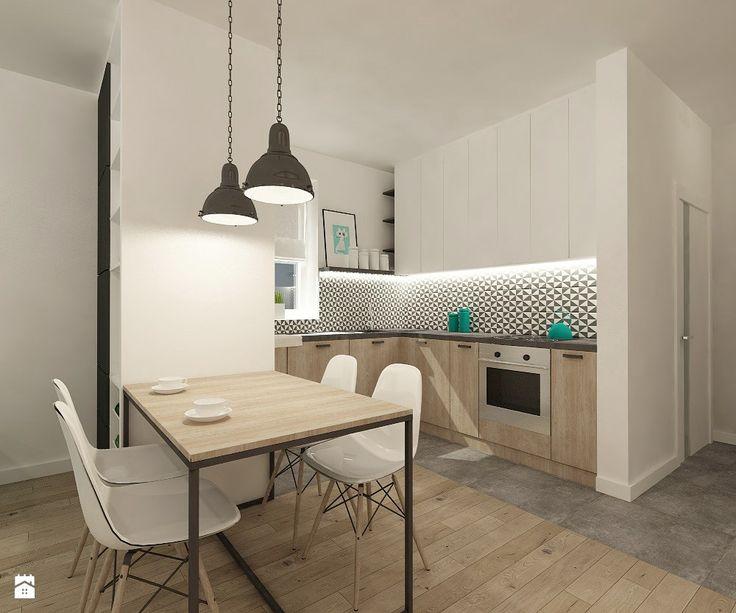 Kuchnia styl Skandynawski - zdjęcie od 4ma projekt - Kuchnia - Styl Skandynawski - 4ma projekt