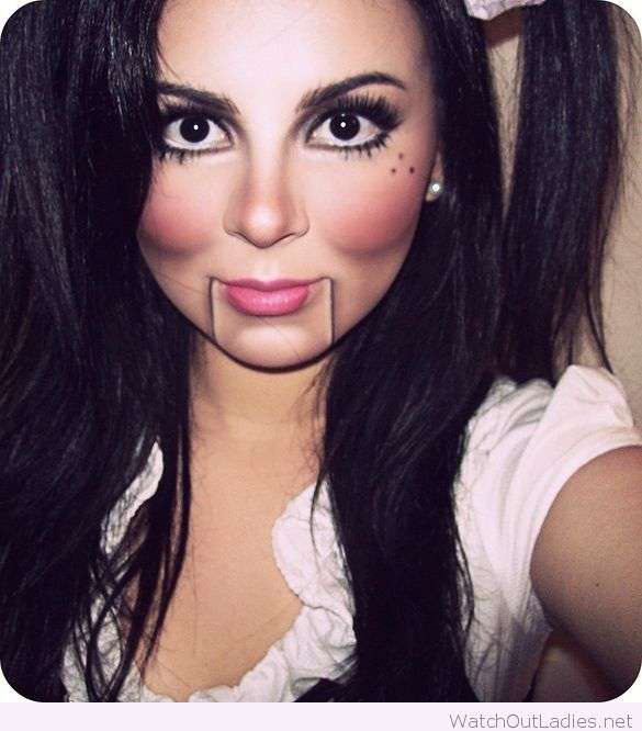 Toy soldier/doll makeup inspiration