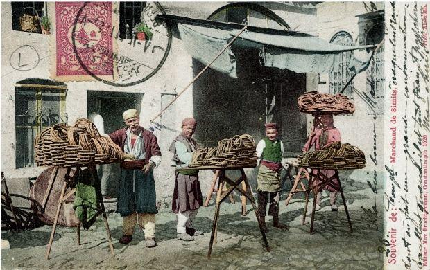 Fruchtermann | Simit Vendors | Karaköy Ottoman Times