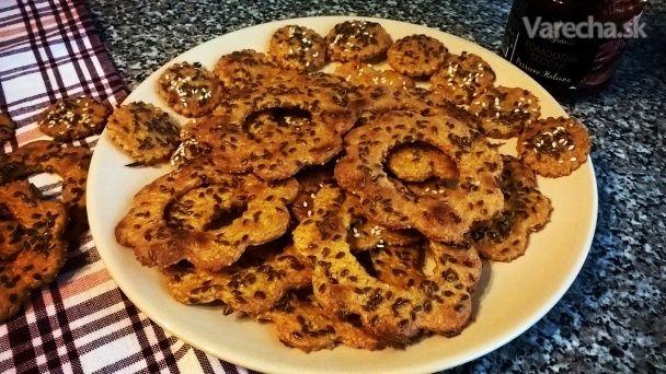 Kváskové slané sušienky