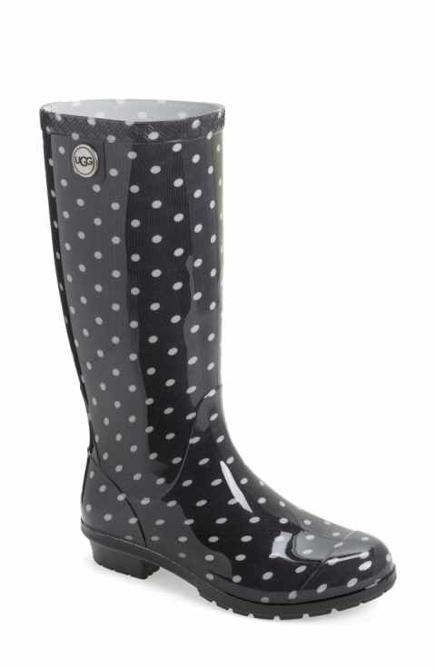UGG® Shaye Polka Dot Rain Boot (Women)