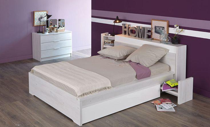 Nice chambre a coucher alinea 3 meuble principal for Alinea chambre a coucher