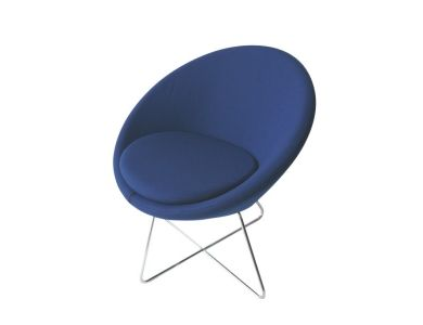 Conic Chair Blue by PearsonLloyd