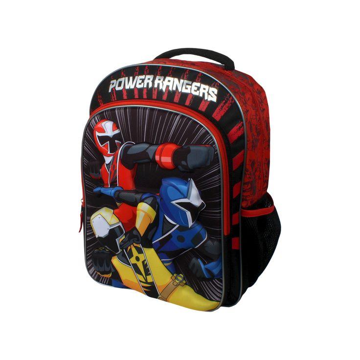 Power Rangers Triple Power 16 Kids' Backpack, Red