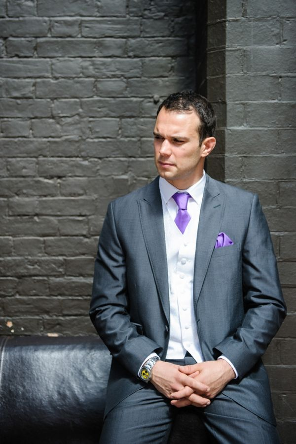 groom purple tie http://daffodilwaves.co.uk/