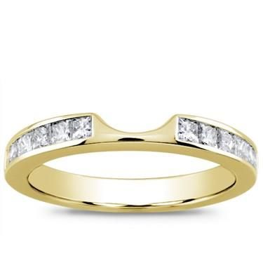 Great The Princess Cut cttw Matching Band is the perfect match for the engagement ring Shop for eternity bands and wedding rings from Adiamor today