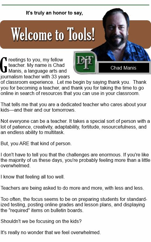 Daily Teaching Tools