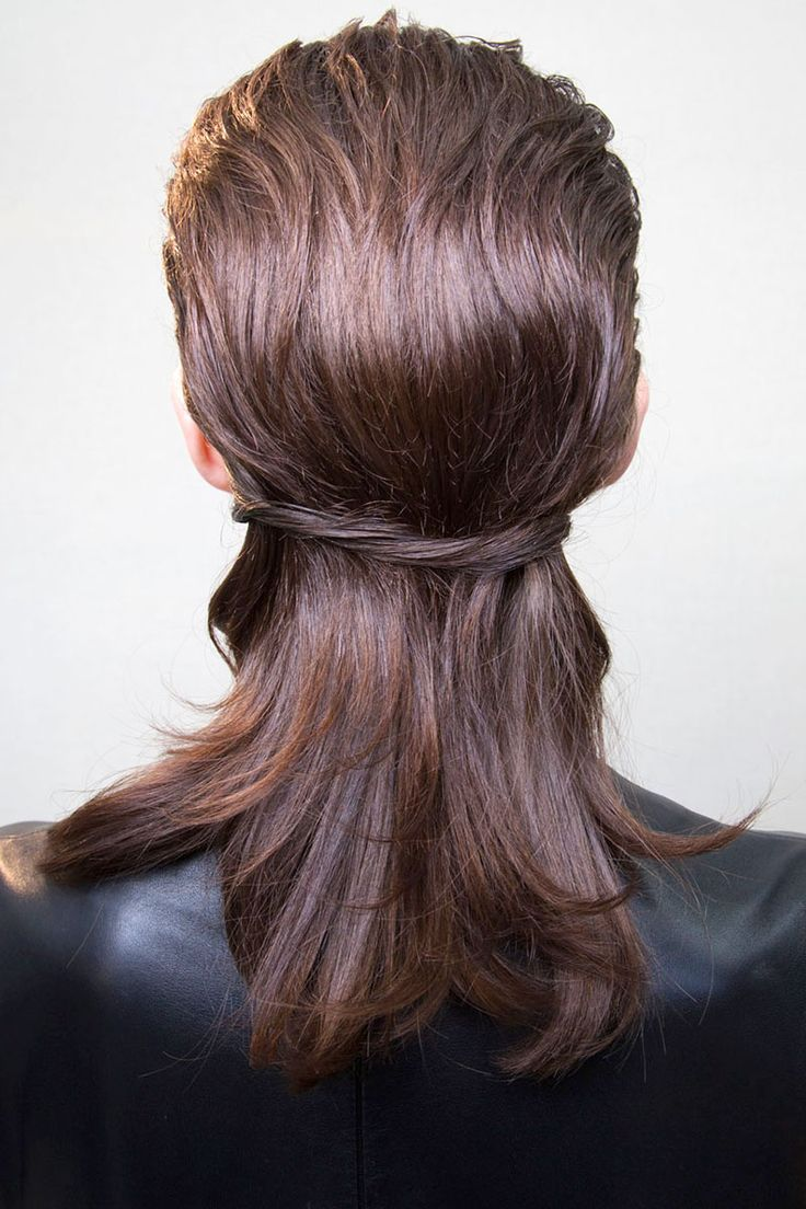 This half-up, half-down look is trending for fall, and works perfectly with all hairstyles and hair colors!