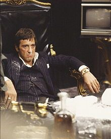 """You think you can take me? You need a fucking army if you gonna take me!""  Scarface, 1983."