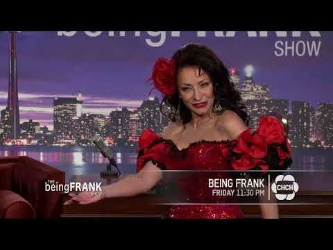 The Being Frank Show – February 16th Show   Promo - Frank D'Angelo - YouTube   Good morning my dear friends.  Have a spectacular day on me. I got your back. Please join me tonight at 11.30pm on CHCH TV nationwide For the beingfrankshow Season 8.  Cheers www.beingfrank.ca