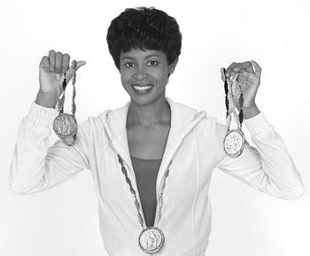 On September 7, 1960, Wilma Rudolph made Olympic history by becoming the first woman, not to mention the first African-American woman, to win three gold medals.