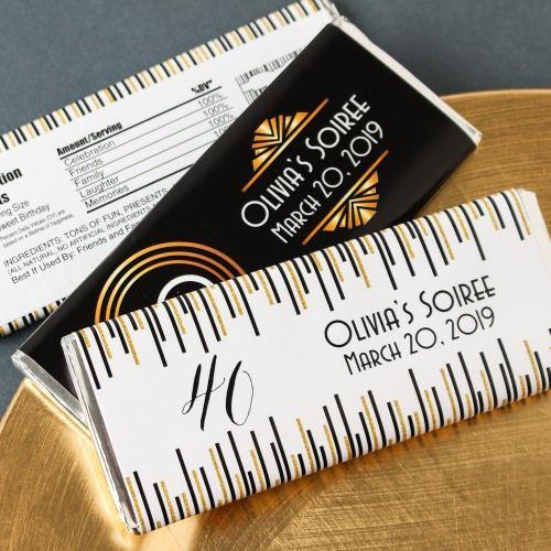 Personalized Milestone Hershey's Chocolate Bars