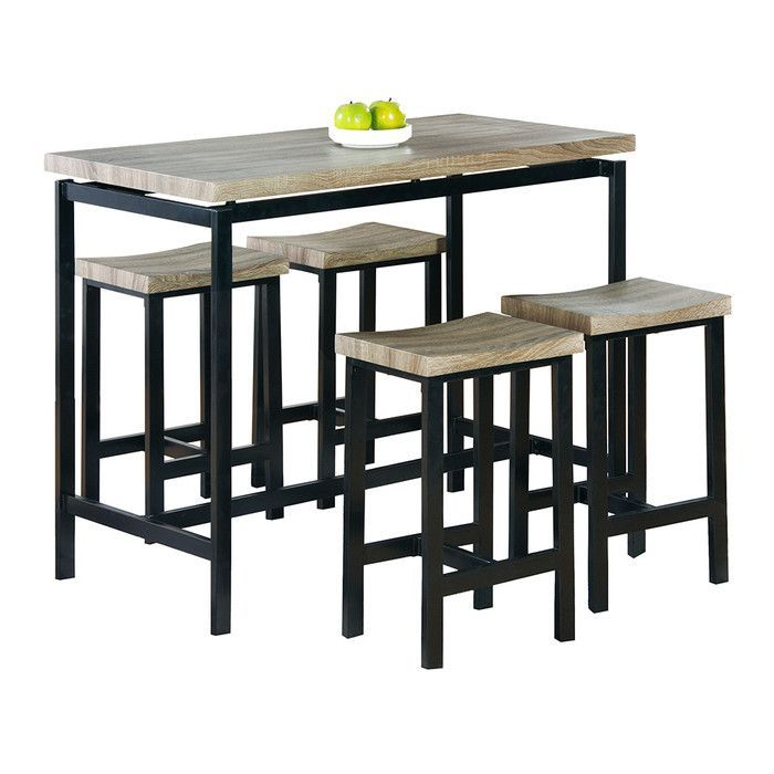 you ll love the bourges 5 piece pub table set at wayfair great rh pinterest com