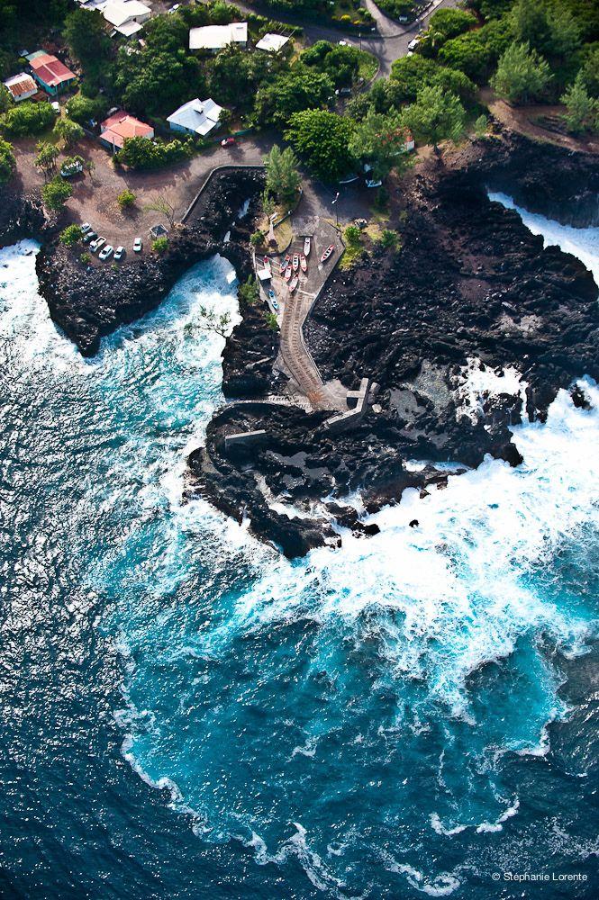 Ile de la Réunion - Port de Pêche de LANGEVIN