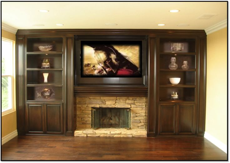 Wall Entertainment Centers With Fireplace Fireplace