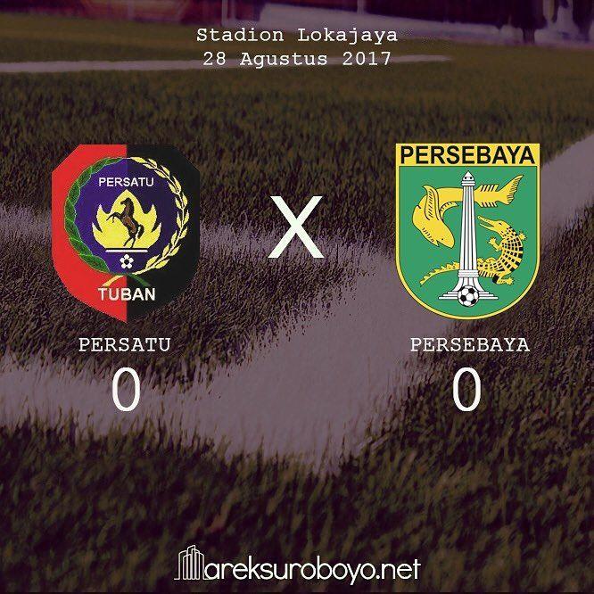 FT Persatu 0-0 Persebaya   #PersebayaDay #Bonek #ArekSuroboyo #GreenForce #PersebayaEmosiJiwaku #KamiHausGolKamu