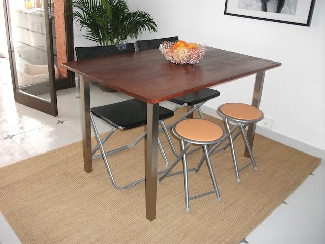 Ikea hack dining table diy
