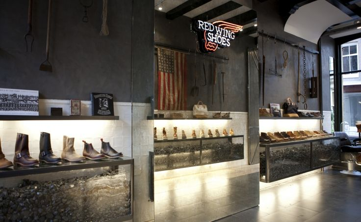 Store Impression - Red Wing Shoes Store Amsterdam