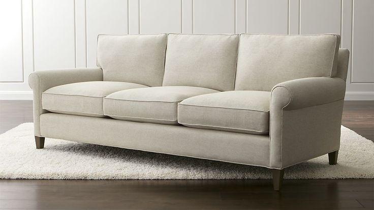"Montclair 3-Seat Sofa, 86""w x 38""d x 35""h (seat height 18""), $1,529 on sale"