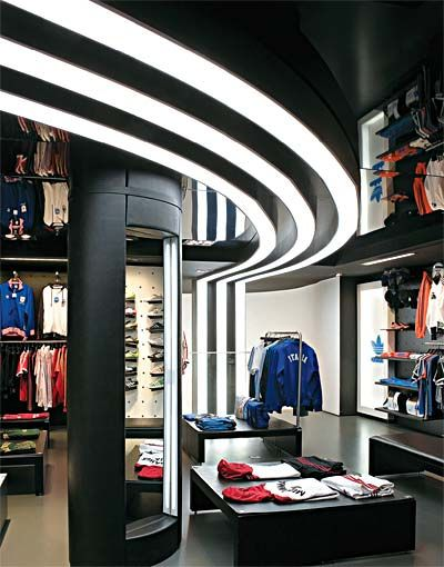 Sports Store | Retail Design | Shop Interior | Sports Display | store adidas