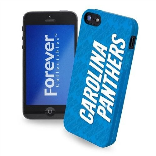 Carolina Panthers Team Silicone iPhone 5 Ai5 Case Cover