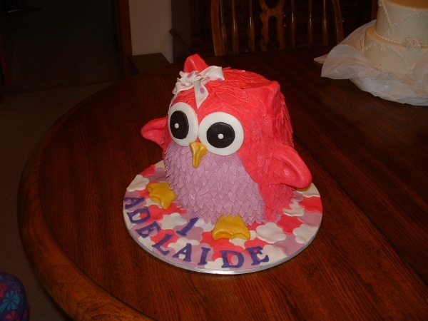 owl cake for susan!