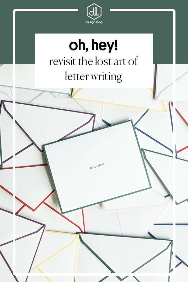 Revisit The Lost Art Of Letter Writing These Cards Are Blank