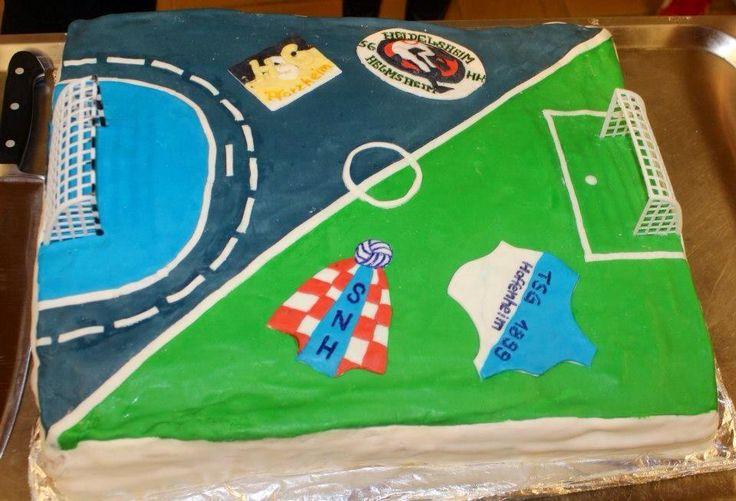 Fussball/Handball Torte