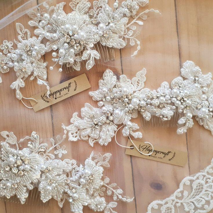 Wedding hairpiece