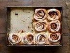 Alton Brown's overnight Classic Cinnamon Rolls