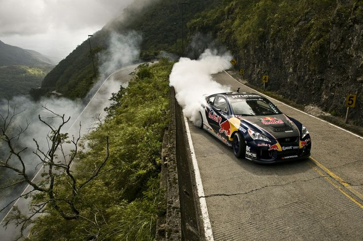 2010 11 11 - Red Bull Drifting Extreme - Rhys Millen in action at Serra do Rio do Rastro - Lauro Muller - Santa Catarina - Brazil by Bruno Terena