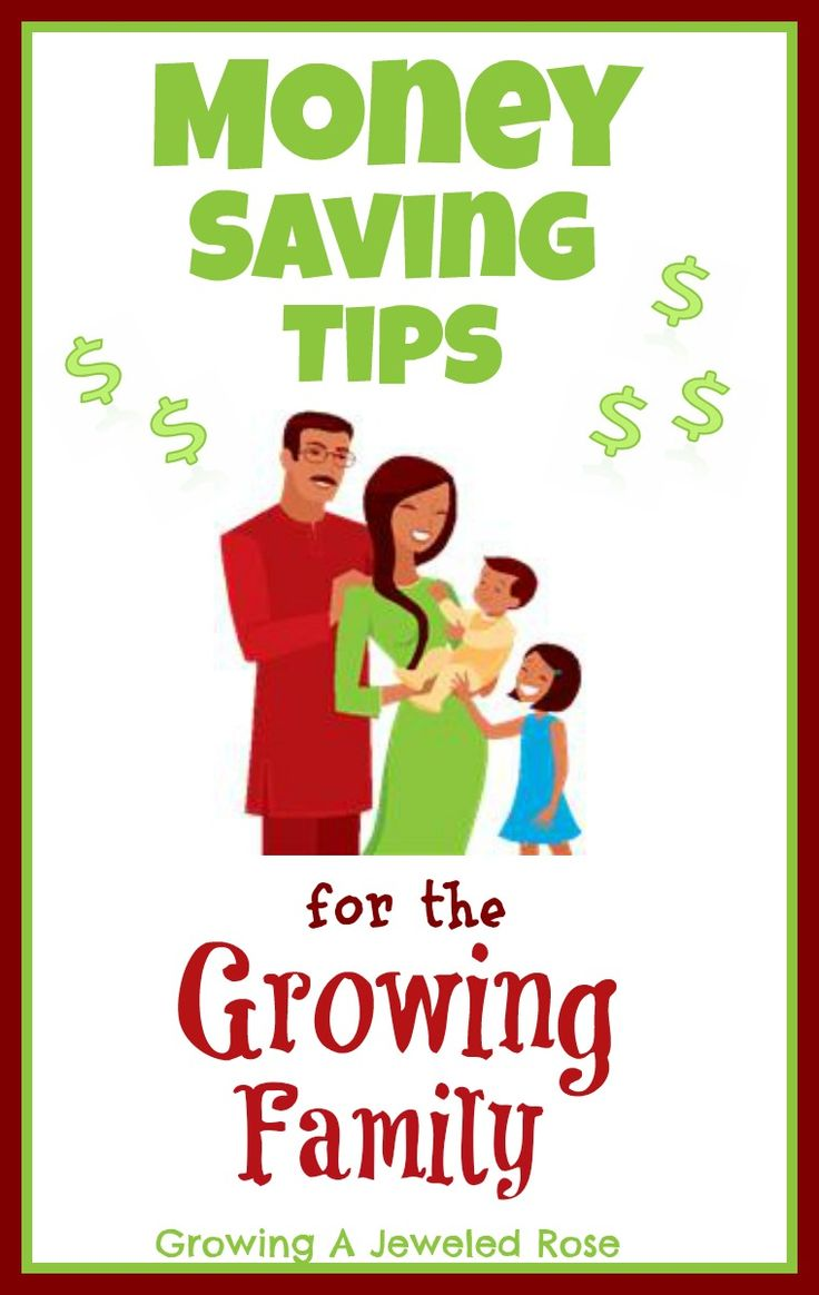 Money Saving Tips for the Growing Family from Growing A Jeweled Rose