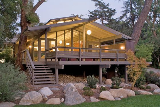 updated mid century modern home | mcm modern mid century remodel design house home, #architecture #midcenturymodern
