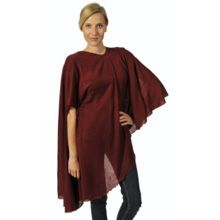 Red Long Knitted Cape